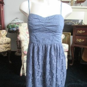 American Eagle Outfitters-Light Blue Dress Size M